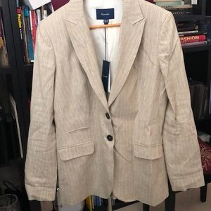 Linen blazer by Faconnable s 10